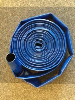 Tuyau plat synthétique pour chantier et industrie